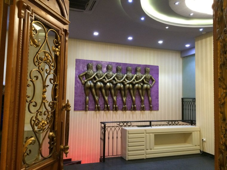 Hall jednego z licznych w Batumi kasyn, fot. Paweł Wroński