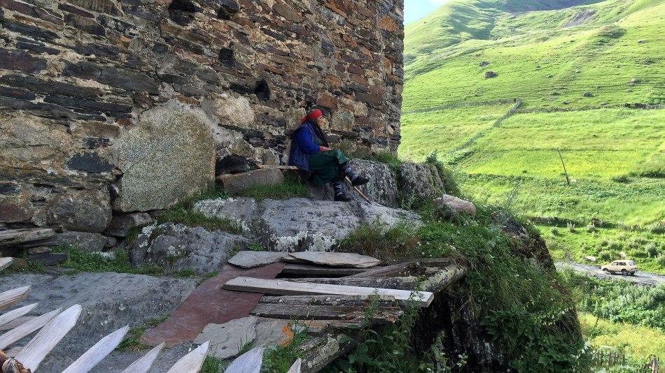 Uszguli w Górnej Swanetii. Gruzińska wieś z zamierzchłej epoki, fot. Paweł Wroński