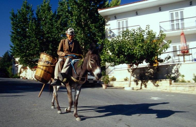 Cypr, scena rodzajowa z Omodos, fot. Paweł Wroński