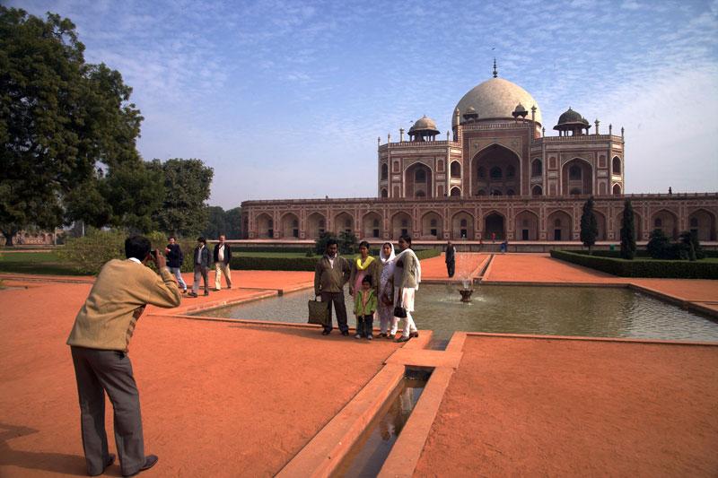 Mauzoleum Humajuna, Nowe Delhi, fot. Paweł Wroński