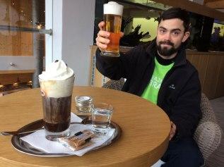 W restauracji w Marinie Liptov w Bobrowniku, fot. Paweł Wroński