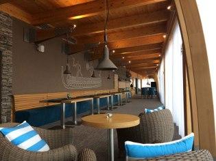 Wnętrze restauracji w Marinie Liptov w Bobrowniku, fot. Paweł Wroński
