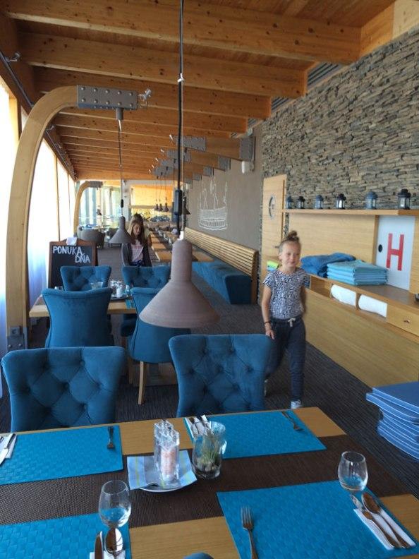 Marina Liptov - wnętrze restauracji, fot. Paweł Wroński