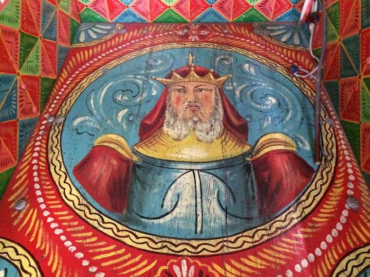 Malarska dekoracja caretto siciliano, fot. Paweł Wroński