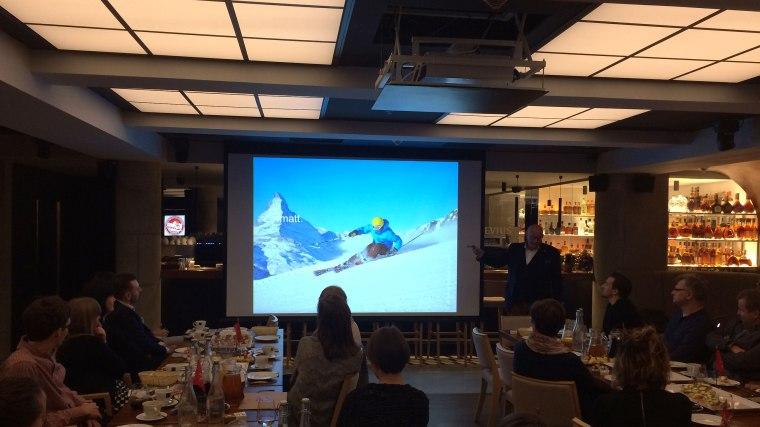 O urokach i nowościach szwajcarskiej zimy 2016/2017 opowiada Jörg P. Krebs, dyrektor Switzerland Tourism na Europę Centralną, Północną i Wschodnią, fot. Paweł Wroński