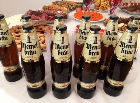 """Browar Švyturys działa w Kłajpedzie od 1784 roku, a jego sztandarowym piwem jest """"Memelbräu"""", bo Memel do dawna pruska jeszcze nazwa Kłajpedy, fot. Paweł Wroński"""