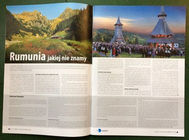 Rumunia jakiej nie znamy w magazynie TT Warsaw 2016 (str. 4-5), fot. Paweł Wroński