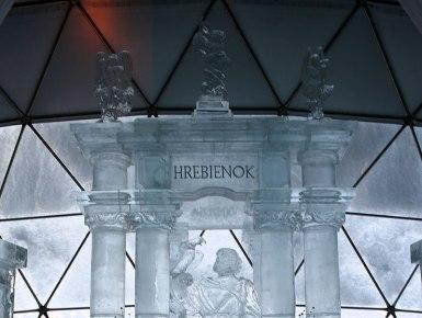 Tatranský ľadový dóm na Hrebienku, fot. Paweł Wroński