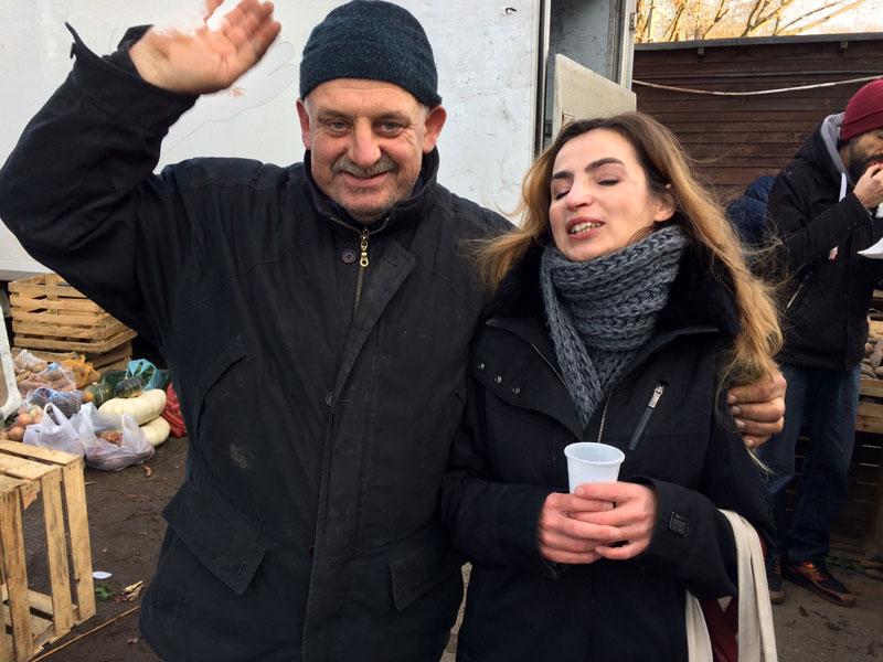 Pan Ziółko żegna się z klientami - do wiosny, fot. Paweł Wroński