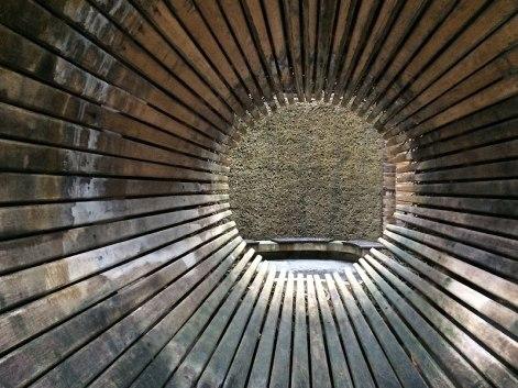 Birsztany (Birštonas) - tężnia w nadrzecznym sosnowym lesie zagospodarowanym w formie parku sztuki i rekreacji, fot. Paweł Wroński