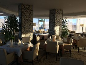 Druskienniki dla zdrowia, restauracja na 8 piętrze hotelu SPA Lietuva, fot. Paweł Wroński