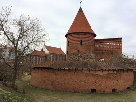 Pozostałości Kauno Pilis, zamku w Kownie, z XIV-XVI wieku, fot. Paweł Wroński