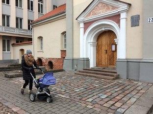 Pod klasztorem bernardynek, fot, Paweł Wroński