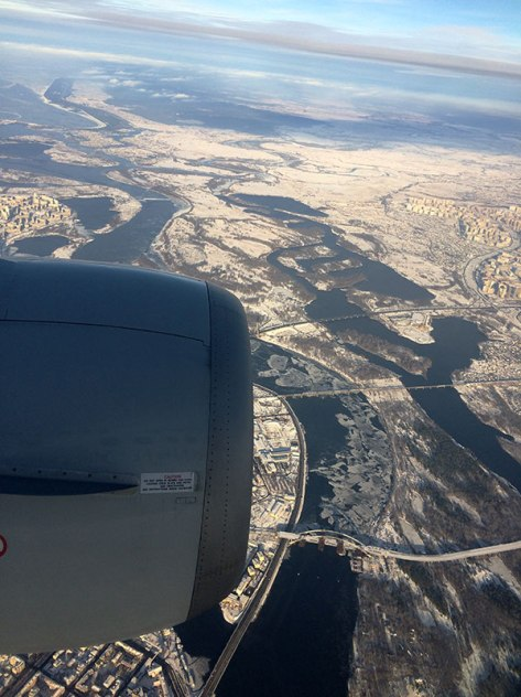Dolina Dniepru w Kijowie, fot. Paweł Wroński