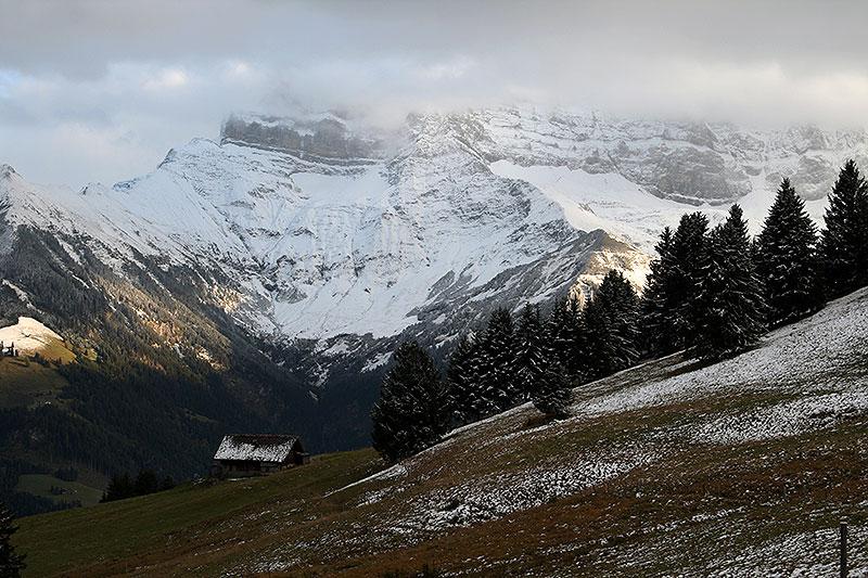 Dents du Midi od strony zachodniej, fot. Paweł Wroński