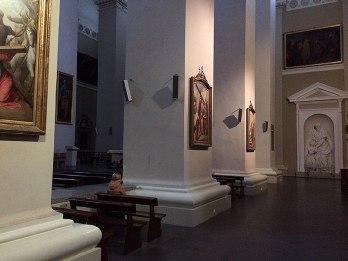 Wnętrze katedry, fot. Paweł Wroński