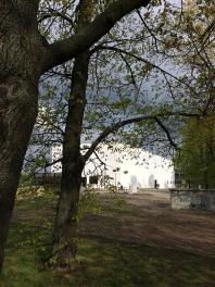 Pawilon muzealny koło Centrum Nauki Kopernik, fot. Paweł Wroński