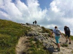 Podejście na Chleb (1646 m) z przełęczy Snilovské sedlo (1524 m), fot. Paweł Wroński