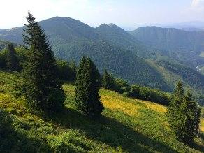 Kraviarske (1361 m), Žitné (1265 m), Baraniarky (1270 m) i Sokolie (1172 m), fot. Paweł Wroński