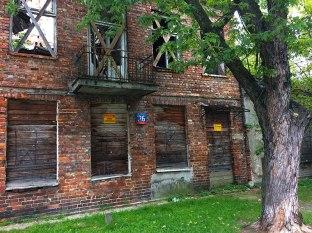 Budynek do rozbiórki, fot. Paweł Wroński