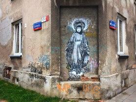 Narożnik z Madonną, fot. Paweł Wroński