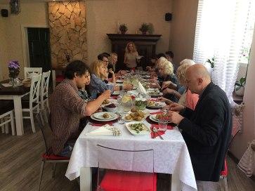 """""""Weranda"""" organizuje z powodzeniem imprezy okolicznościowe; np. rodzinny obiad imieninowy, fot. Paweł Wroński"""