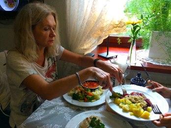 Potrawy z dworskiego menu, fot. Paweł Wroński