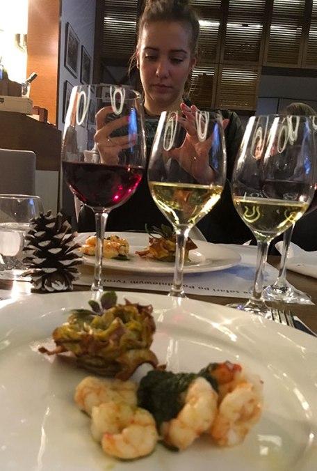 Wina odpowiednio dobrane do kolejnych potraw, fot. Paweł Wroński