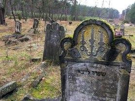 Kirkut pod Otwockiem, fot. Paweł Wroński