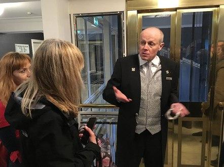 Consierge Paweł Owczarek z Hotelu Bristol, fot. Paweł Wroński
