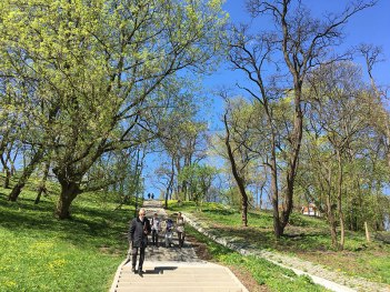 Park Tadeusza Mazowieckiego w Warszawie, fot. Paweł Wroński