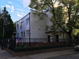 Willa przy Gruzińskiej 3, róg Czeskiej, mieści dziś Ambasada Malezji, fot. Paweł Wroński
