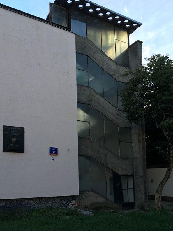 Klatka schodowa przy Katowickiej 7A, fot. Paweł Wroński