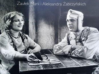 Maria i Aleksander Żabczynski, patroni skweru przy nadwiślańskim krańcu Walecznych, fot. Paweł Wroński