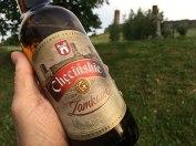 I coś dla piwoszy - lokalne Chęcinskie Zamkowe, rzeczywiście kunsztownie uwarzone, fot. Paweł Wroński