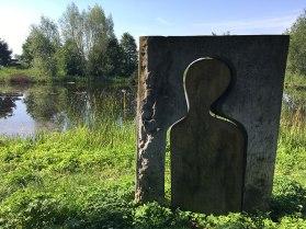 Józef Szajna - Przejście, piaskowiec (1997). Orońsko, Centrum Rzeźby Polskiej, fot. Paweł Wroński