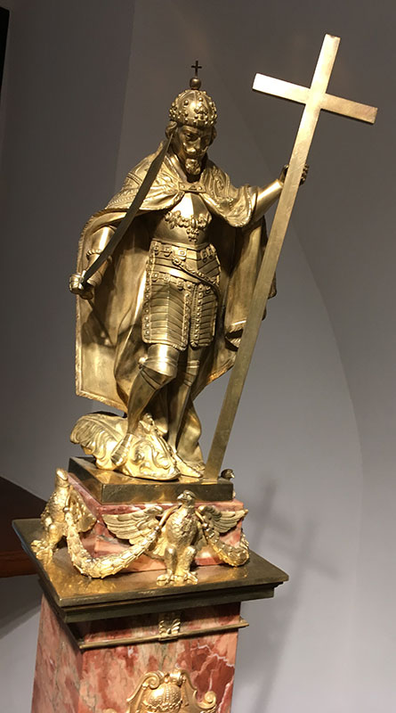 Wersja posągu Zygmunta III Wazy - odlew ze zbiorów Muzeum Warszawy, fot. Paweł Wroński