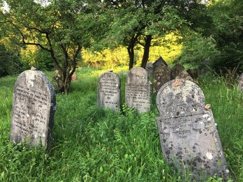 Kirkut w Chęcinach na skłonie Góry Zamkowej, fot. Paweł Wroński