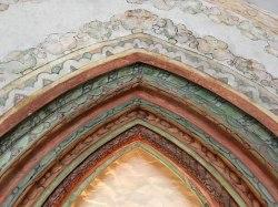 Zwieńczenie gotyckiego portalu, fot. Paweł Wroński