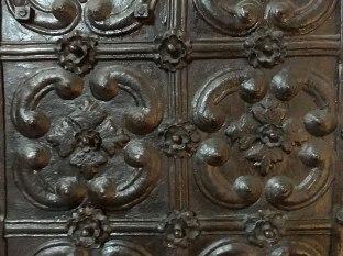 Fragment kutych drzwi, fot. Paweł Wroński