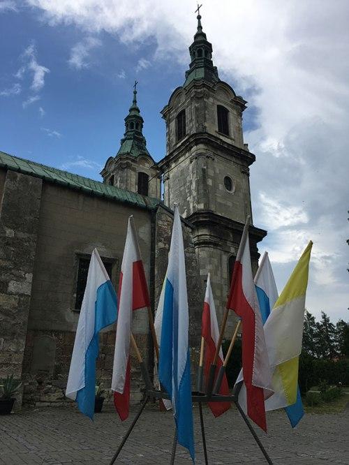Kościelne wieże w cysterskim opactwie w Jędrzejowie, fot. Paweł Wroński