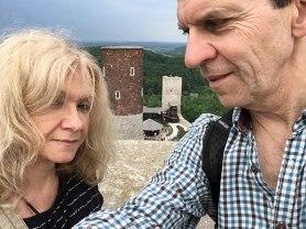 Zamek Królewski w Chęcinach. Na widokowej baszcie wschodniej, fot. Paweł Wroński