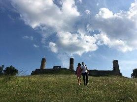 Widok na Zamek Królewski w Chęcinach od północy, fot. Paweł Wroński