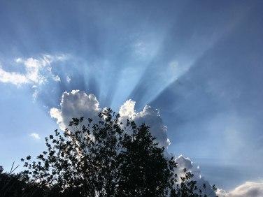 Niebo czuwa nad Chęcinami, fot. Paweł Wroński
