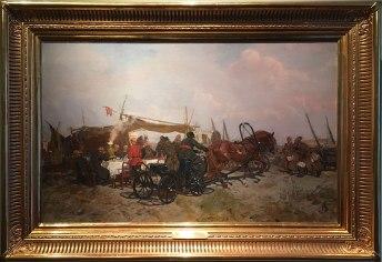 Otwarta w 2012 roku dla publiczności galeria malarstwa Józefa Chełmońskiego jest ukoronowaniem starań o stworzenie w radziejowickim pałacu największej ekspozycji prac tego artysty, fot. Paweł Wroński