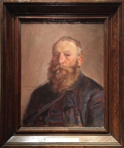 Józef Chełmoński – autoportret (1902 rok), fot. Paweł Wroński