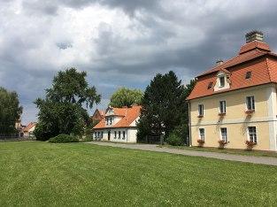 Zabudowania folwarczne w Kórniku, fot. Paweł Wroński