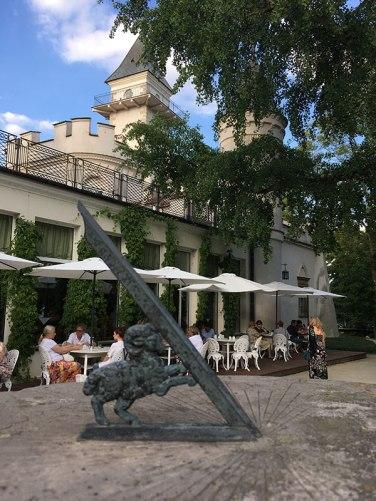 Kawiarnia działająca w Domu Pracy Twórczej jest otwarta dla szerokiej publiczności, fot. Paweł Wroński