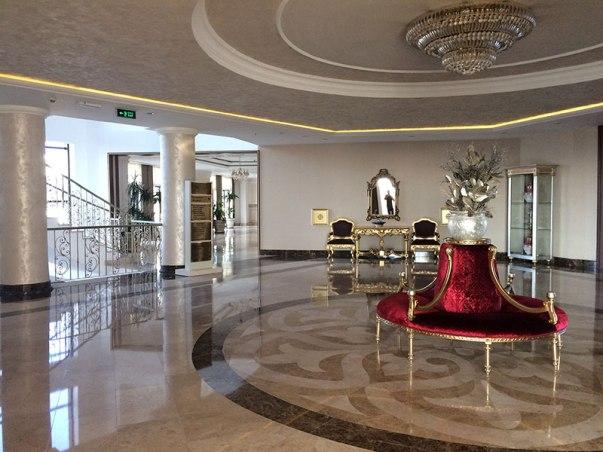 Pałacowe wnętrza NG hotelu, , fot. Paweł Wroński