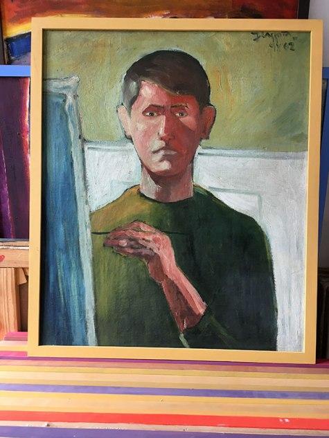 Autoportret z 1962 roku, fot. Paweł Wroński
